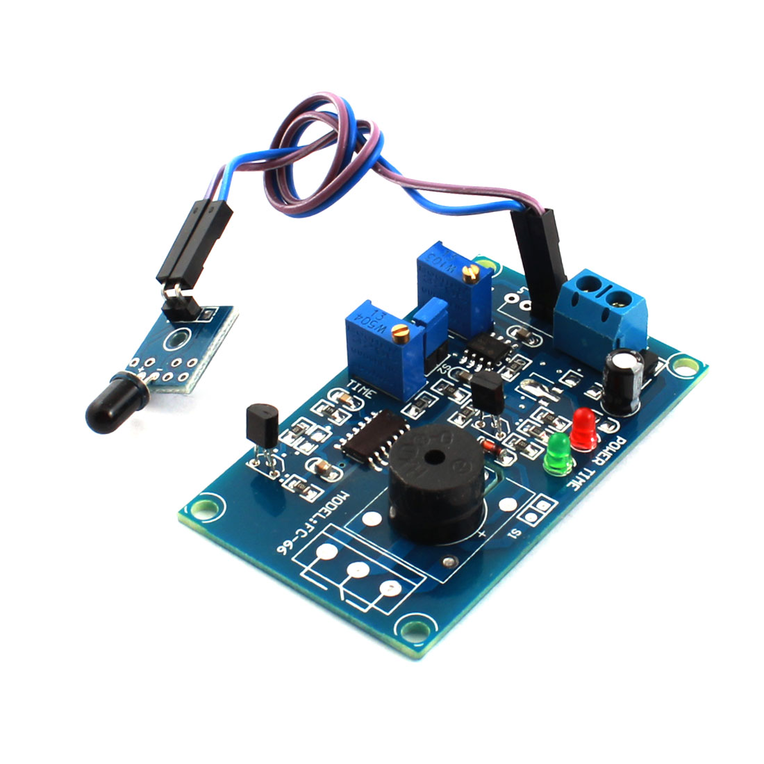 FC-66 DC5V 0-20s Fire Fighting Detection Detection Infrared Receiver Sensor Alarm Time Delay Module