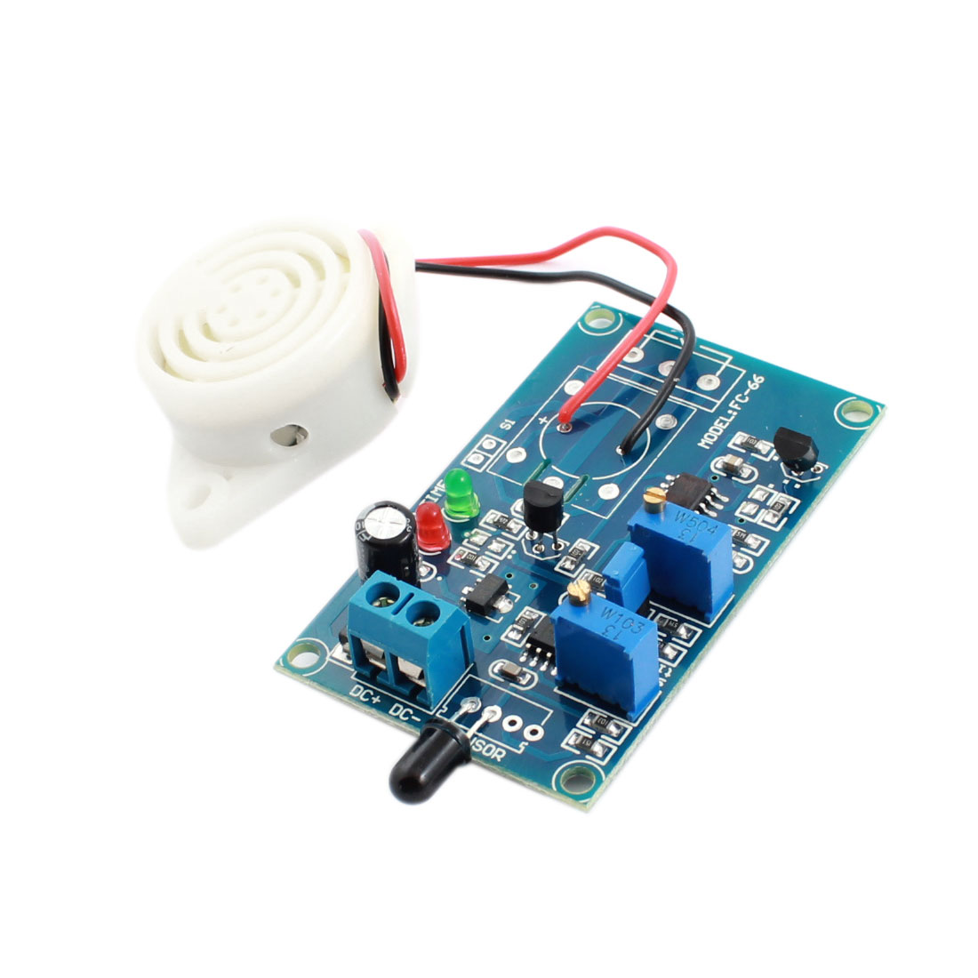 FC-66 DC24V 0-20s Fire Fighting Detection Detection Infrared Receiver Sensor Alarm Time Delay Module