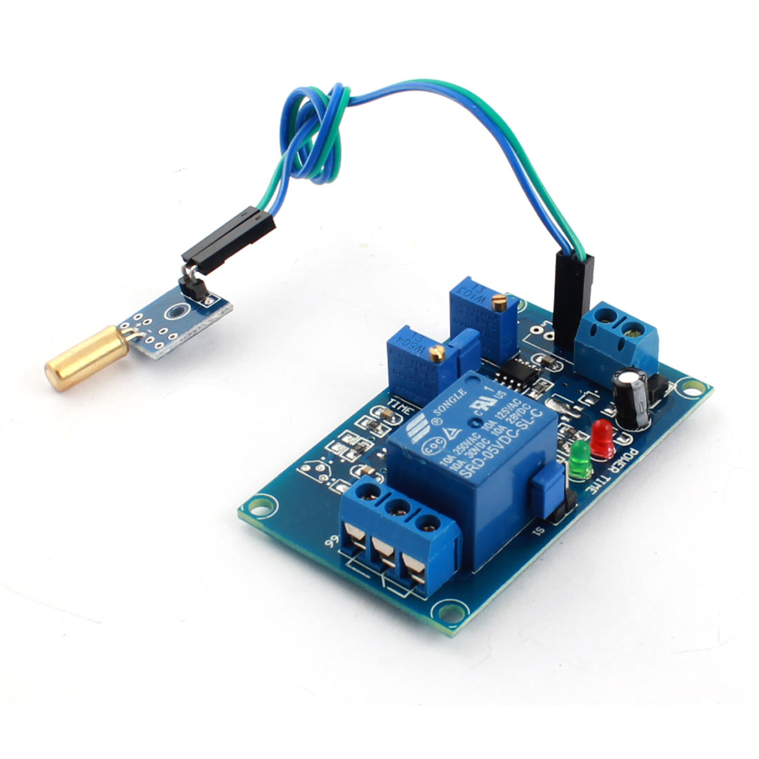 DC 5V 1 Channel Dumping Angle Sensor Time Delay Relay Module