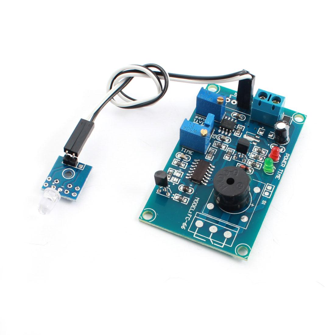 FC-66 DC 5V Photosensitive Diode Photoelectric Sensor Alarm Buzzer Time Delay Module