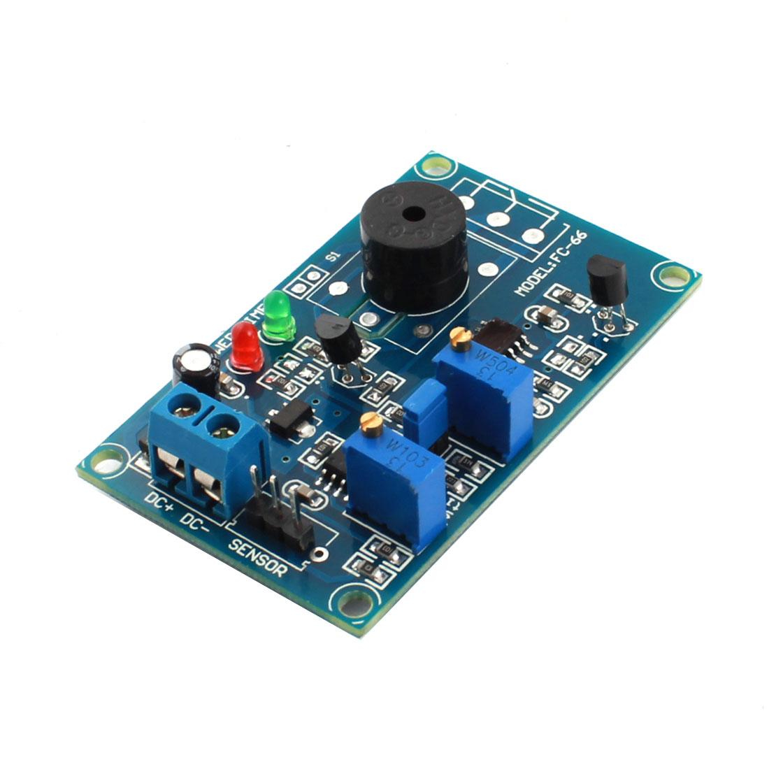 FC-66 DC 12V 0-60cm 0-20S Sensor Time Buzzer Alarm Delay Infrared Circuit Module Blue