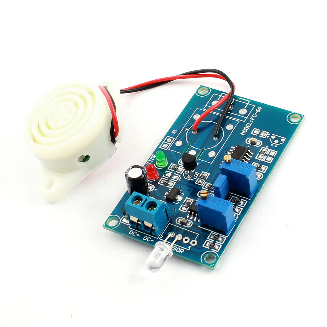 FC-66 DC 24V Photosensitive Diode Light Sensor Alarm Buzzer Time Delay Module