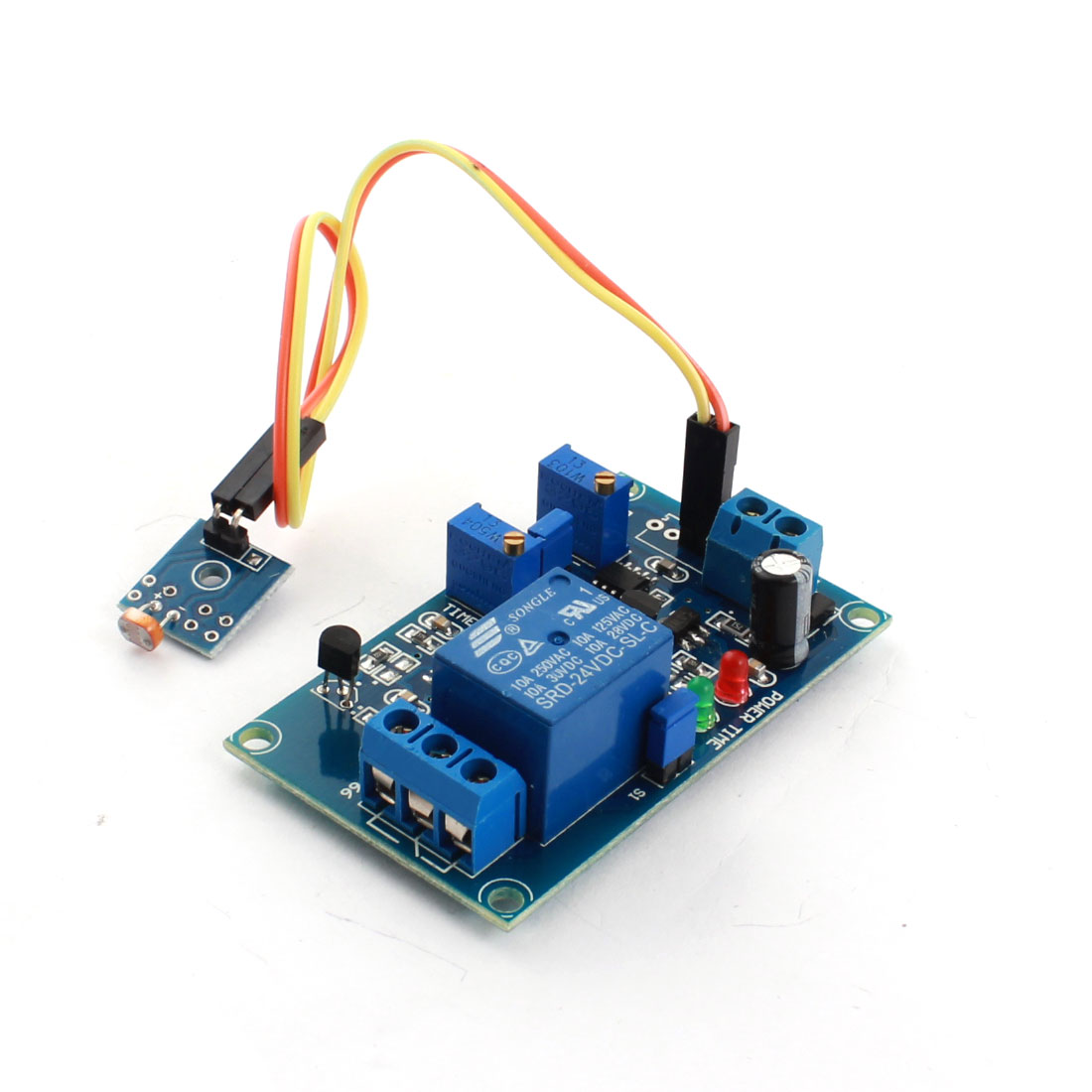 DC5V 1 Channel Non-light Operation Photovaristor Diode Time Delay PCB Board Relay Module