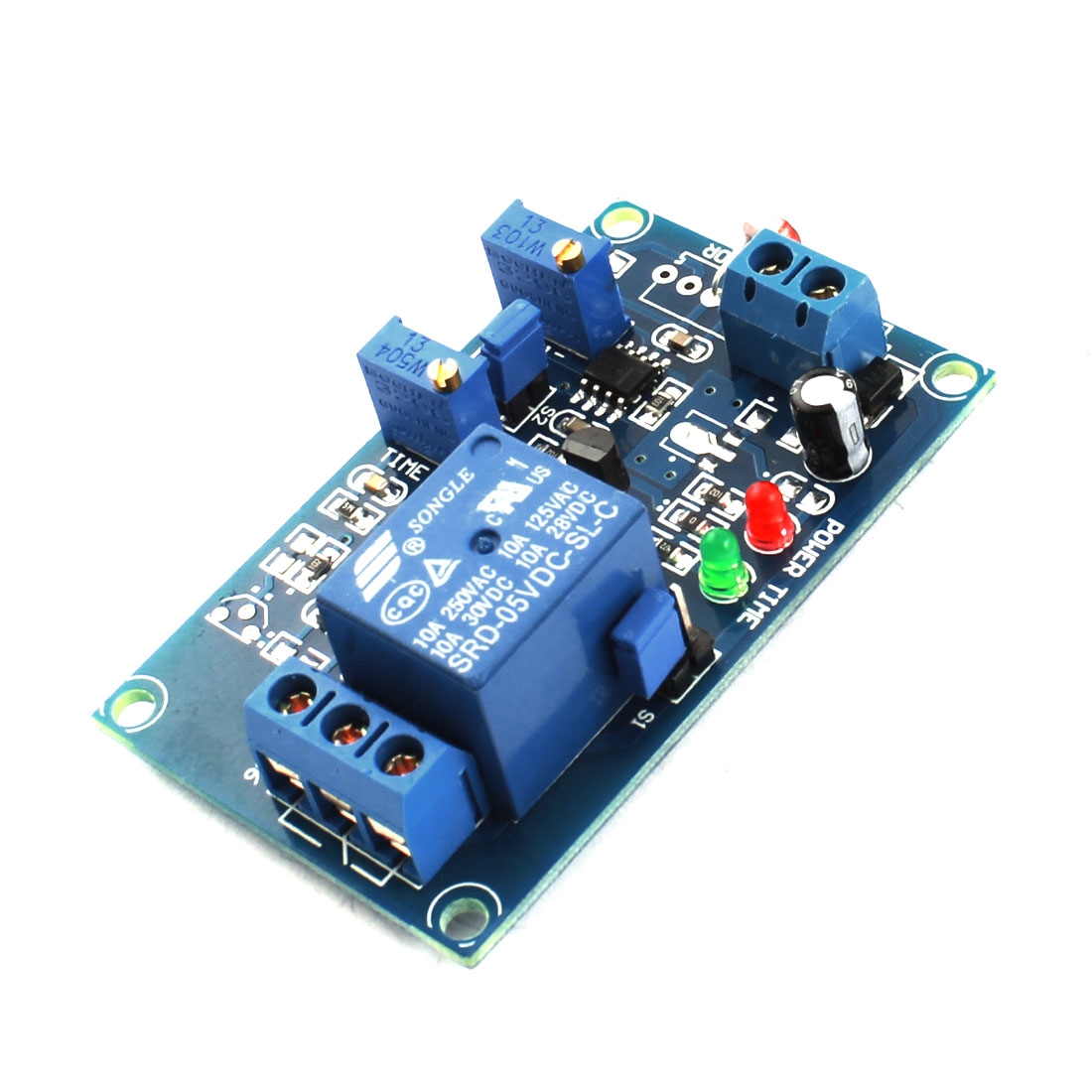 FC-66 DC5V 1CH Light Detection Photoresistor Sensor Time Delay PCB Circuit Relay Module Green