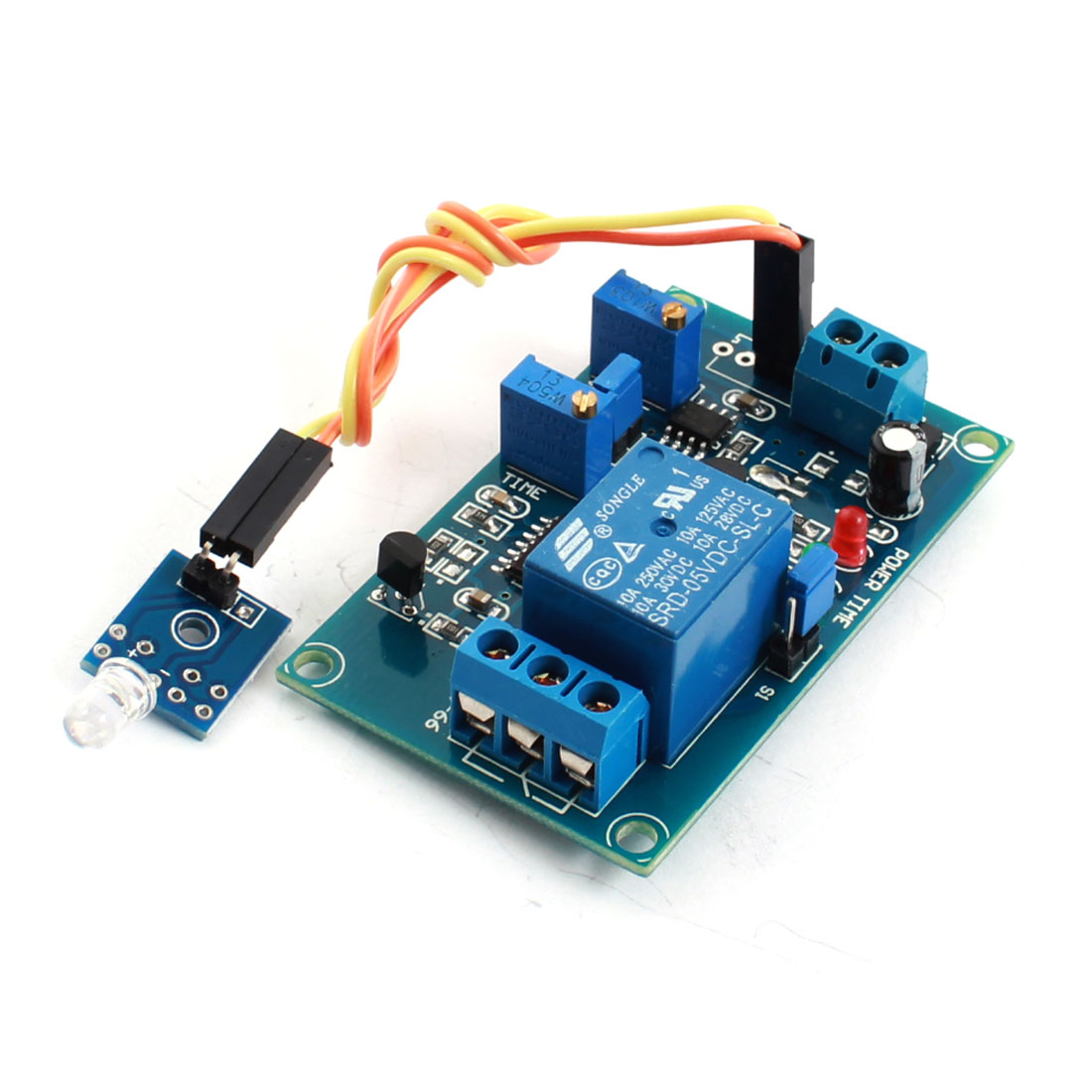 FC-66 DC 5V 1-Channel Light Detection Photosensitive Diode Sensor Photoswitch Delay Relay Module