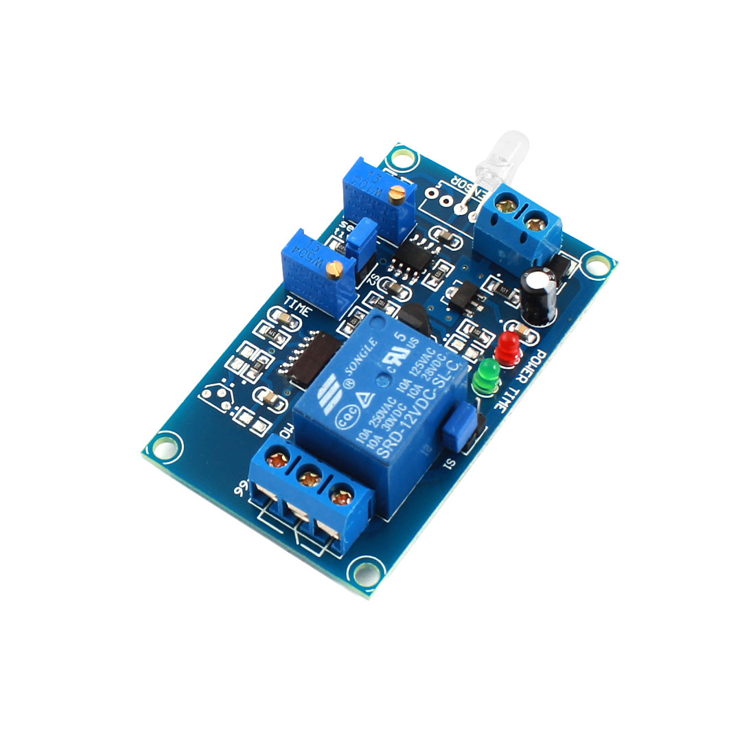 FC-66 DC12V 1-Channel Light Detection Photosensitive Diode Sensor Photoswitch Delay Relay Module