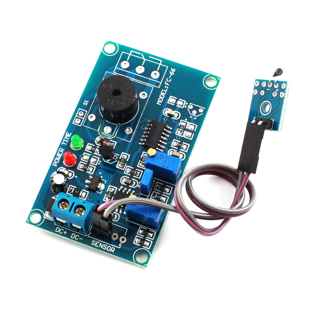 DC12V 0-20S High Temperature Trigger Pyroelectricity Delay Alarm Module