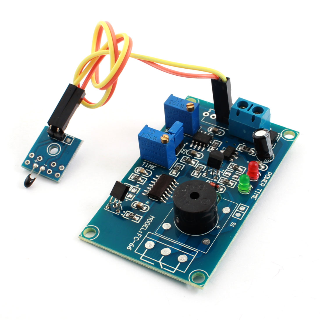 DC12V 0-20S Pyroelectricity Alarm Buzzer Time Delay PCB Circuit Module