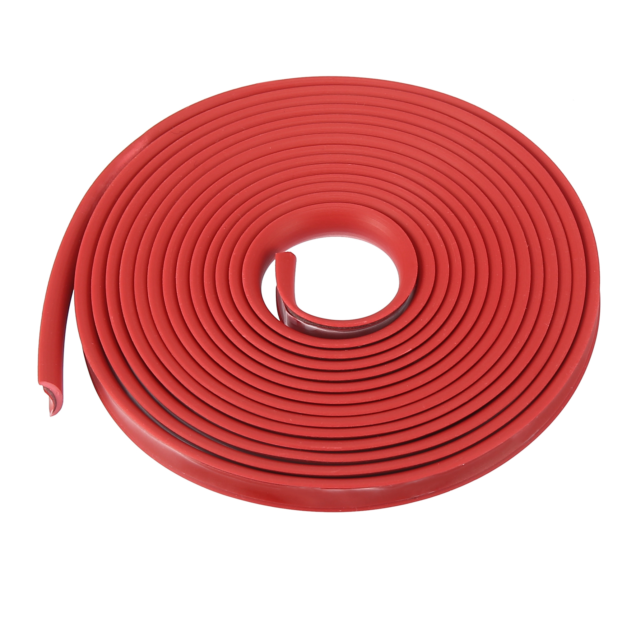 Car Red Grille Exterior Decoration Moulding Trim Strip 2 Meters