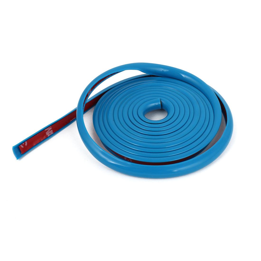 Car Blue 2 Meter Length Panel Flexible Ornament Strip Strap