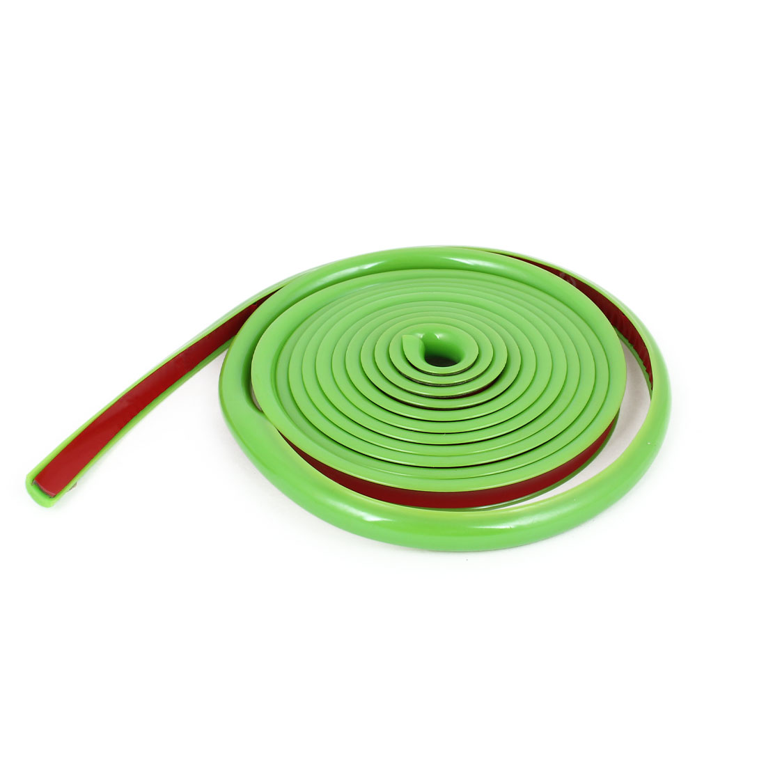 Green Soft Plastic 8mm Width 2m Long Flexible Car Trim Strip