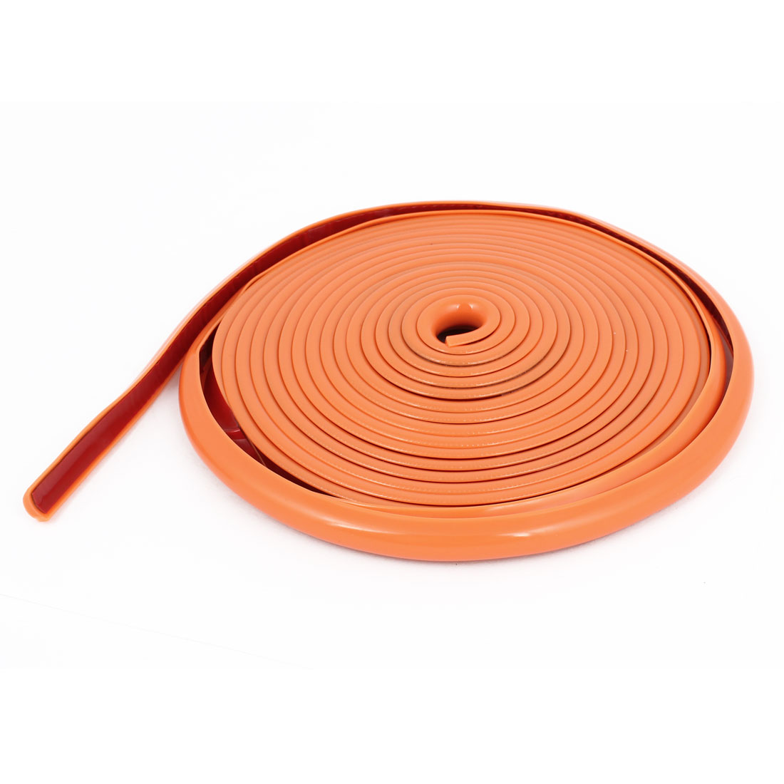 Orange 4 Meter Long 10mm Width Moulding Trim Strip for Auto Car