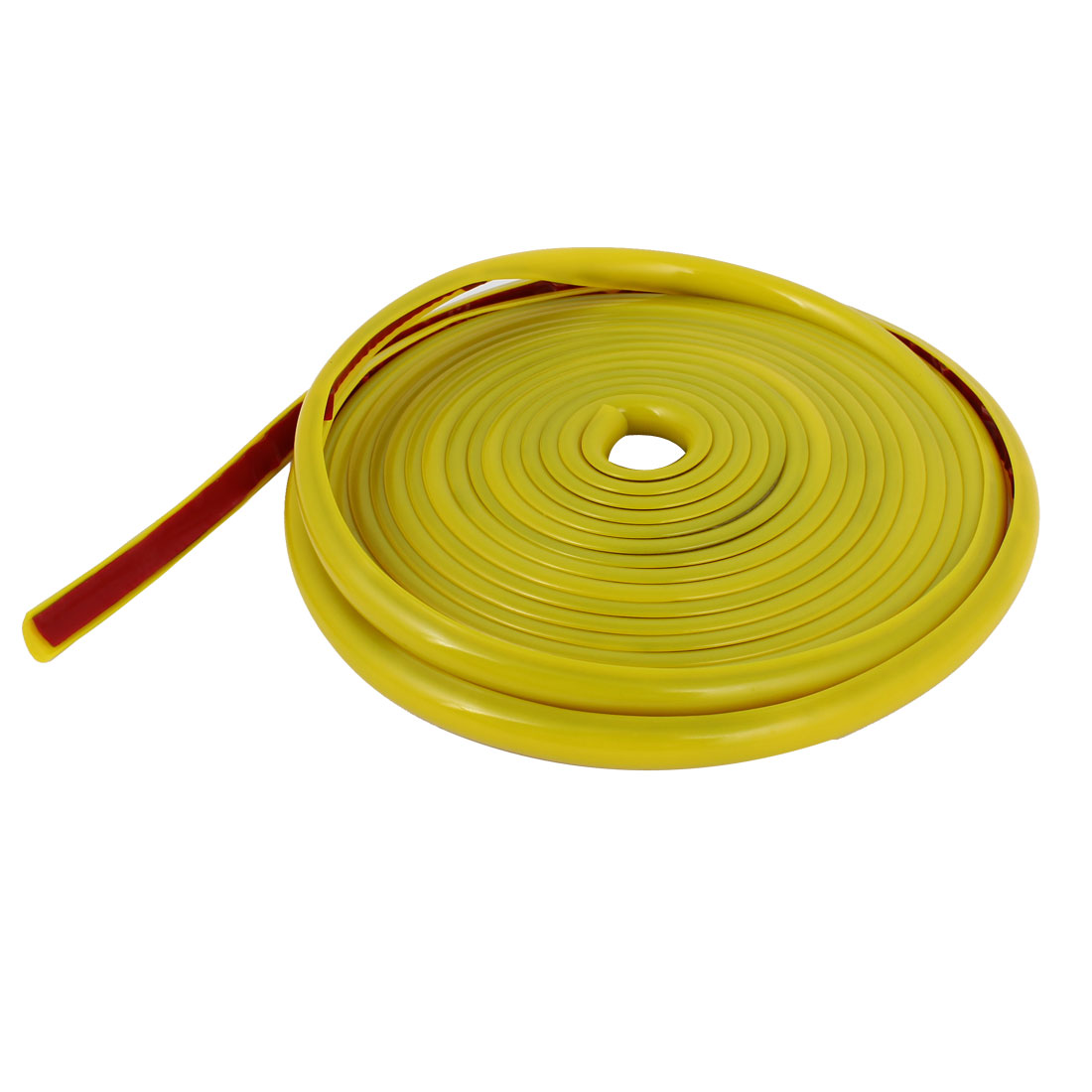 Yellow 4 Meter Length Soft Plastic Vehicle Car Moulding Trim Strip