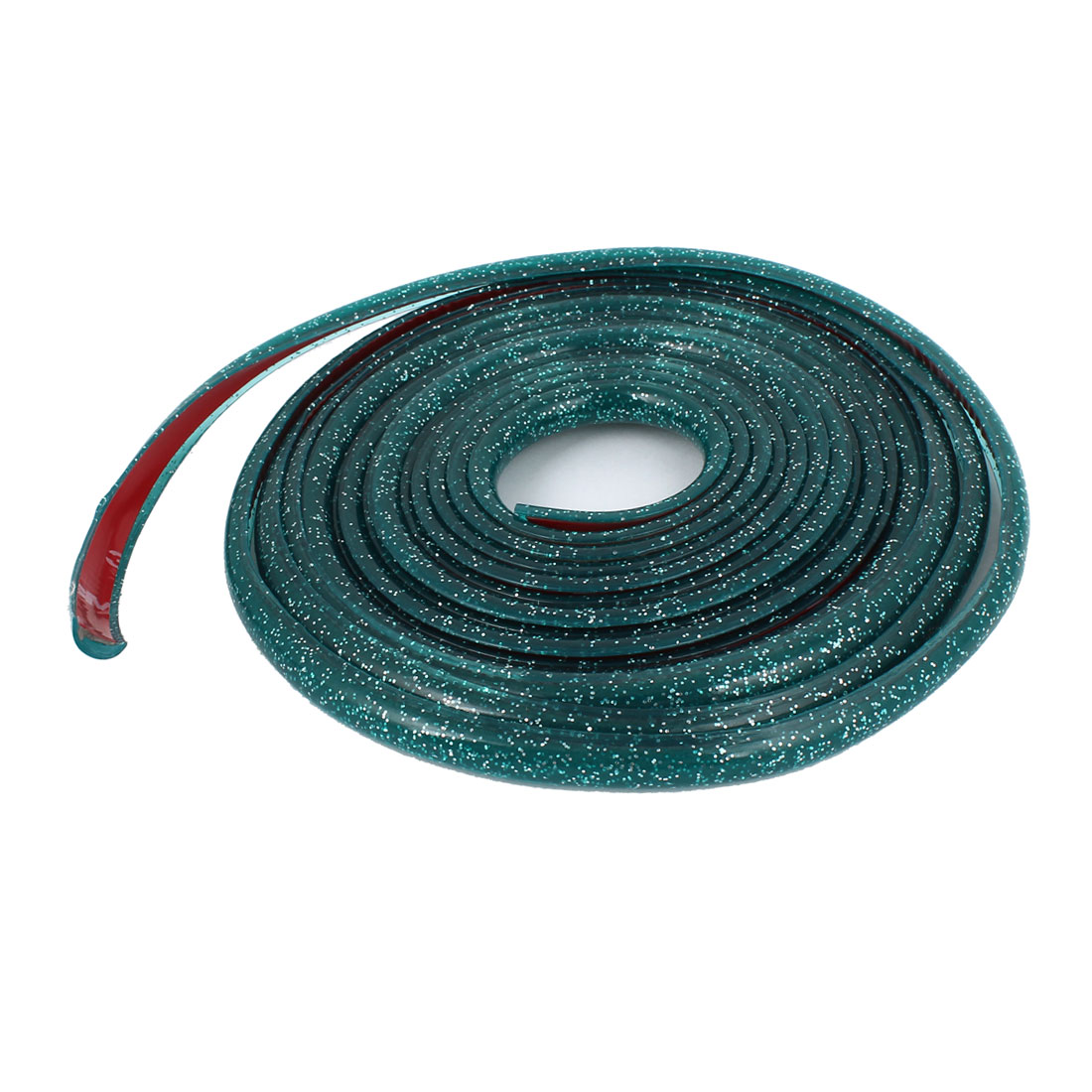 Car Window Door Glittery Green Moulding Trim Strip 4M Long 10mm Width