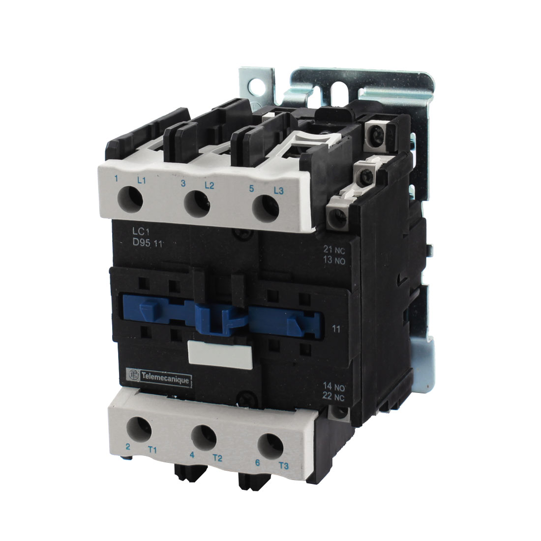 LC1-D9511 690V 125A 220V Coil Voltage 35mm 75mm DIN Rail Mounting 3-Phase 6 Screw Terminals 1NO 1NC AC Safety Electric Circuit Control Power Contactor