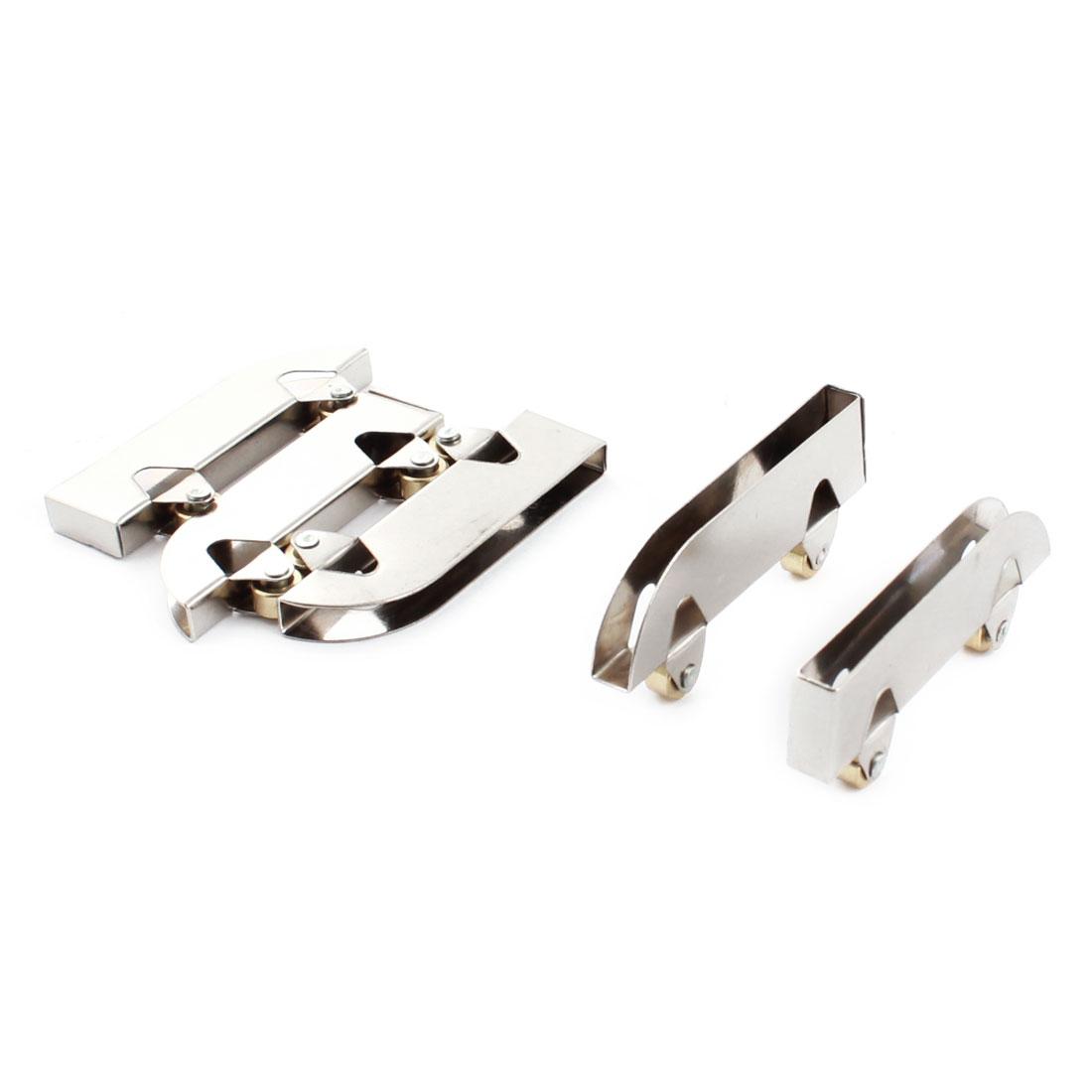 5 Pcs 7mm Diameter Wheel Closet Wardrobe Closet Sliding Glass Door Roller