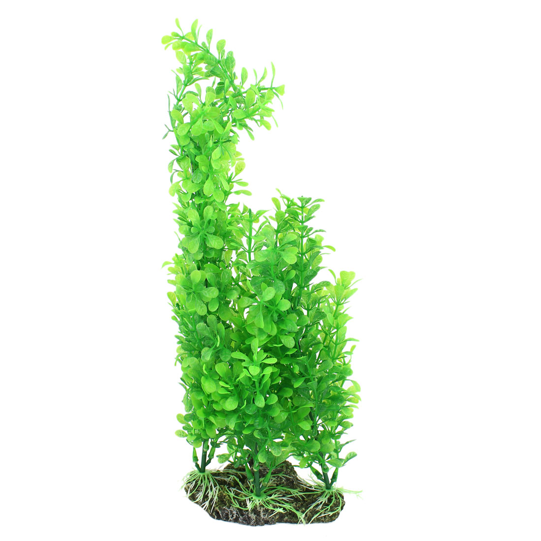 "15.7"" Height Green Aquarium Ornament Plastic Emulation Underwater Grass Plants"