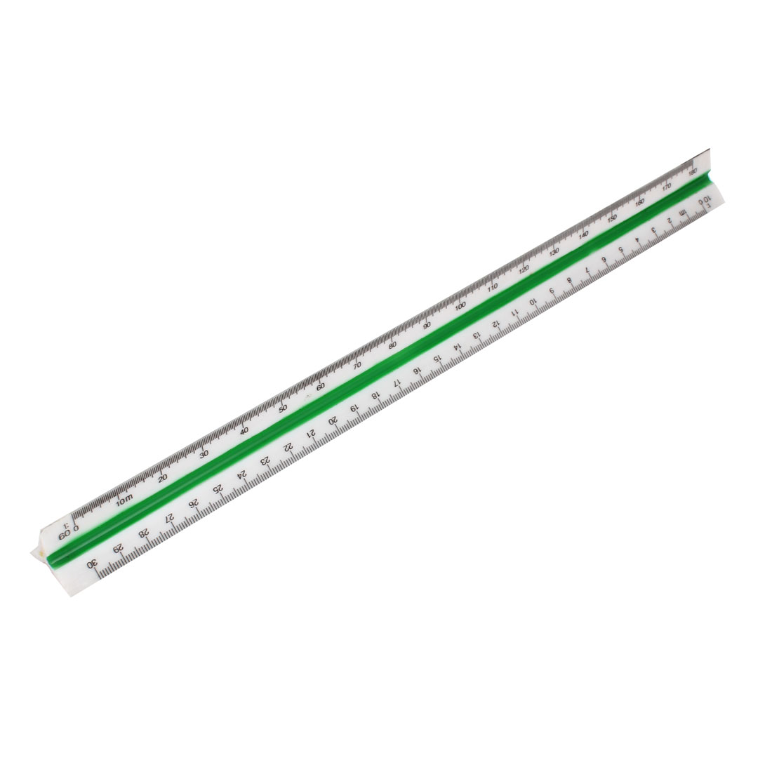 1:10 1:20 1:30 1:40 1:50 1:60 Six Type Metric Triangular Scale Ruler
