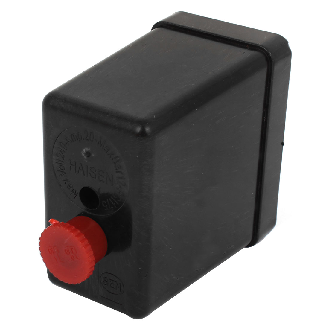 Air Compressor Pressure Switch Control Valve Plastic Outer Casing Sheel Black