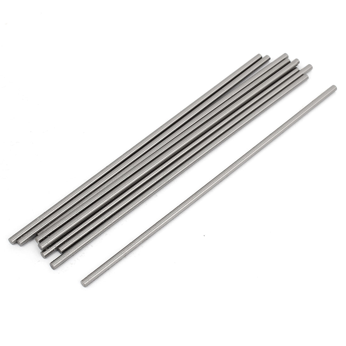 10pcs HSS High Speed Steel Round Turning Lathe Bars 3mm x 150mm