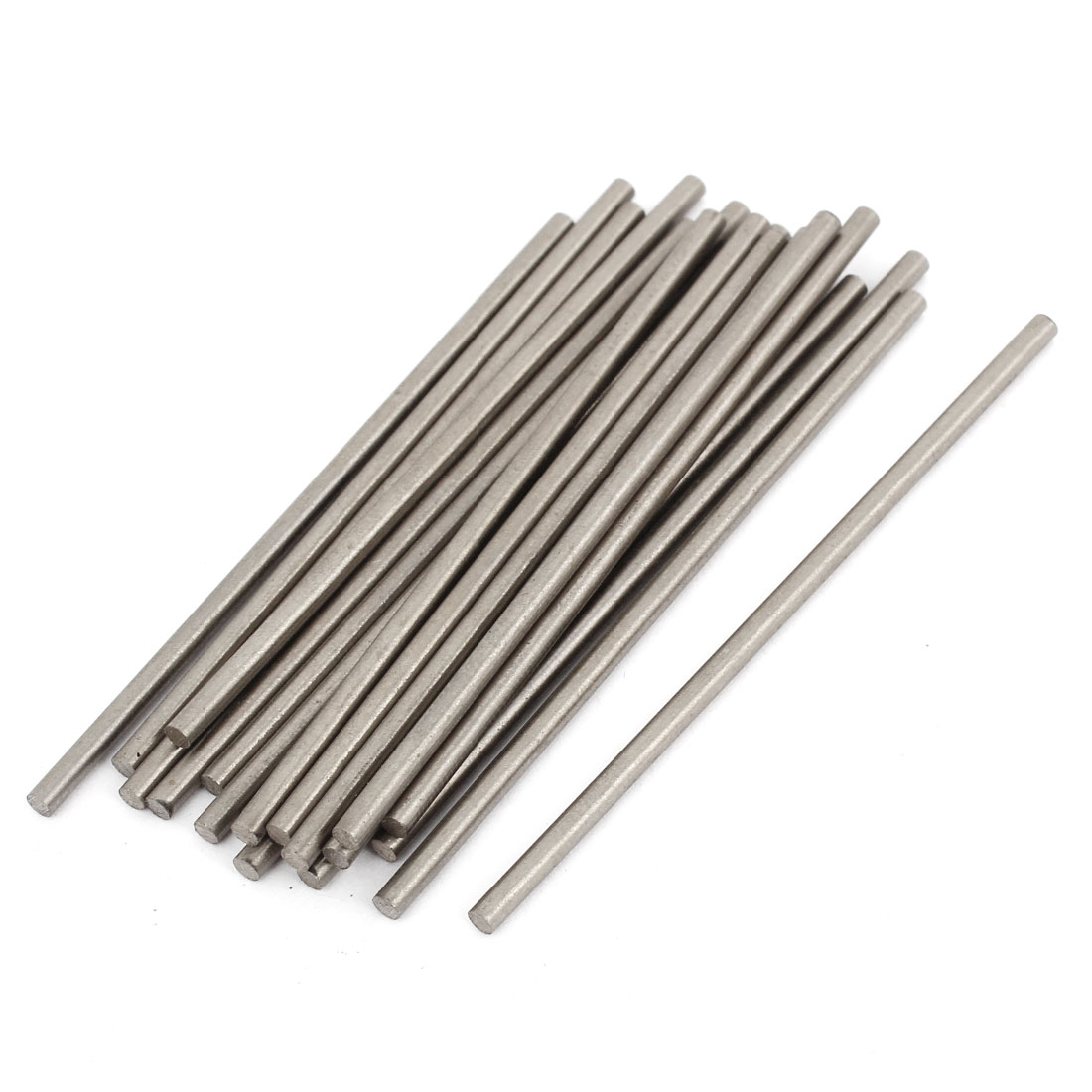 20pcs HSS High Speed Steel Round Turning Lathe Bars 2mm x 60mm