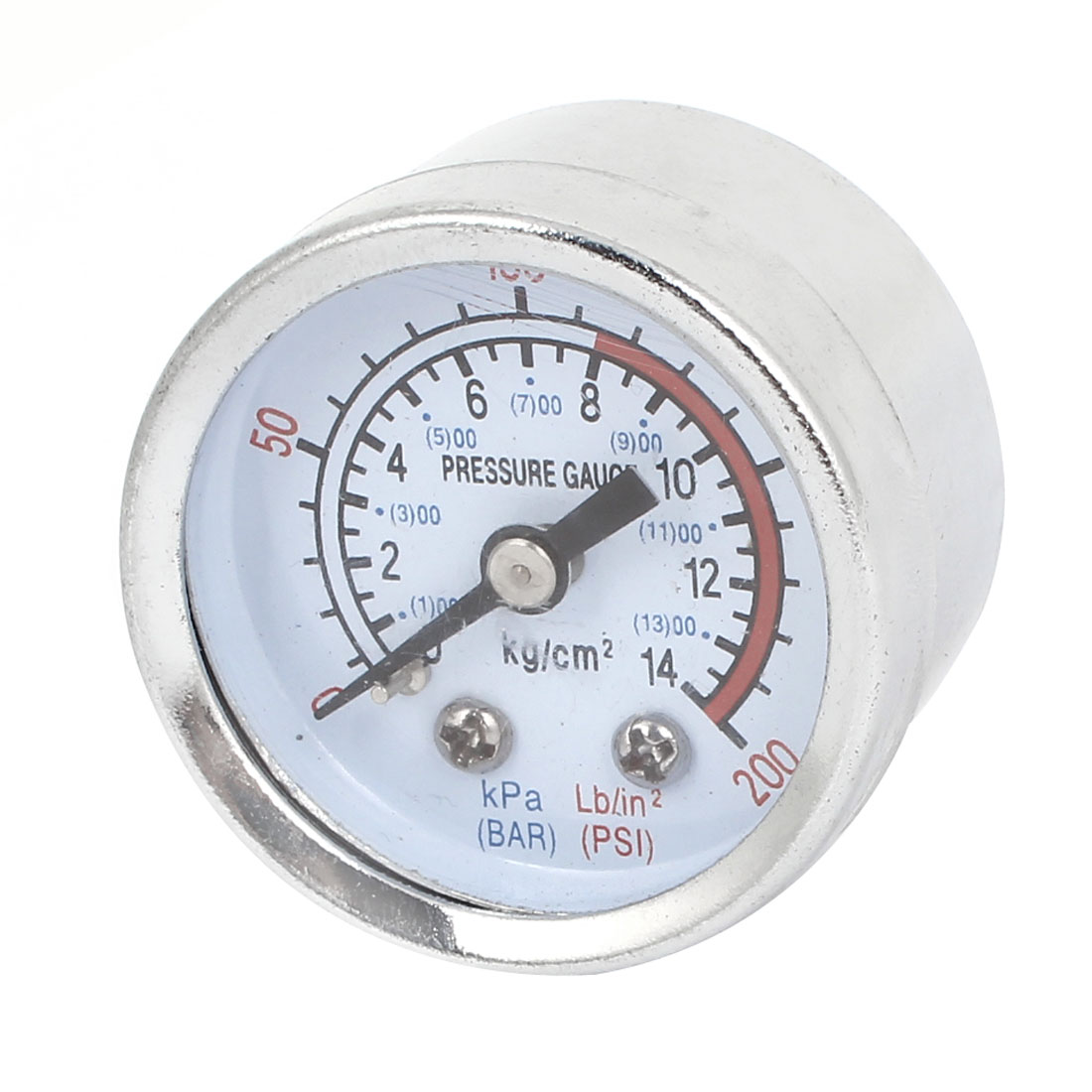 0-14 Bar 0-200 Psi 10mm Thread Air Compressor Barometer Pressure Gauge