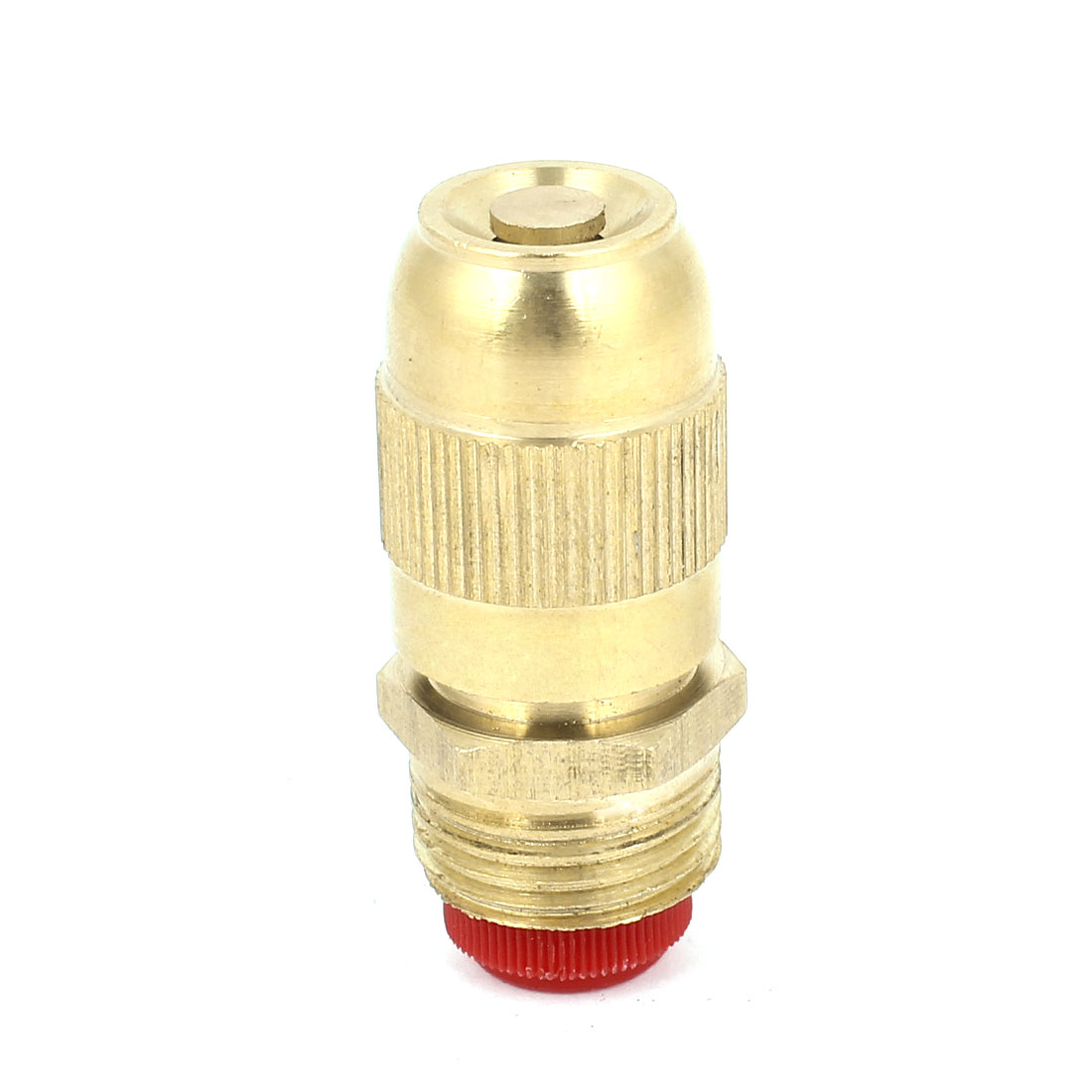 Cooling Dust Cleaning 20mm Male Thread Water Mist Spray Head Nozzle Brass Tone