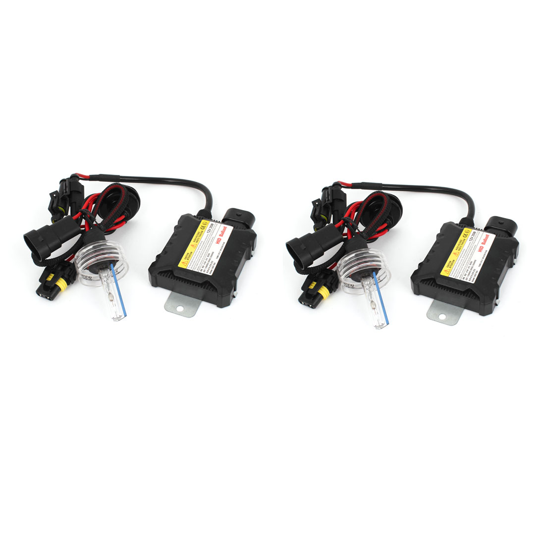 Pair Car Slim Ballast 9006 8000K Light HID Xenon Head Lamp 12V 35W Kit