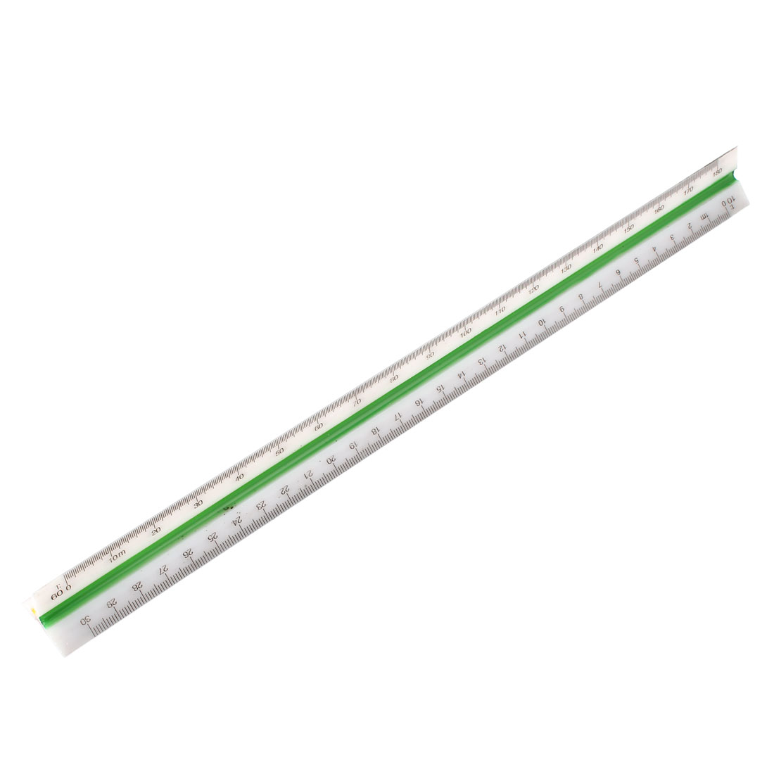 Plastic Architects Engineering Triangular Scale Ruler 1:10 1:20 1:30 1:40 1:50 1:60