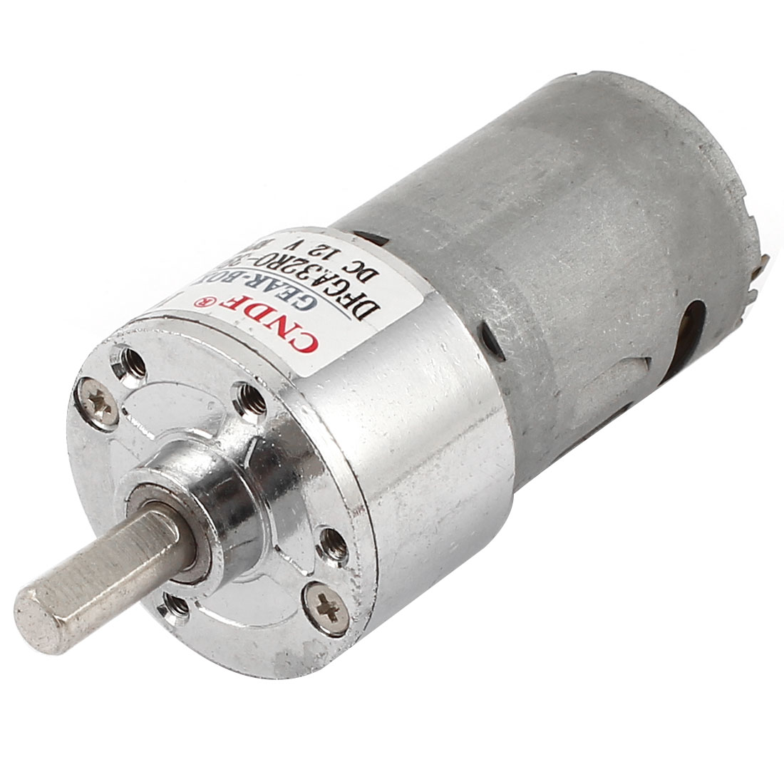 12V DC 300RPM 6mm Shaft Magnetic Electric Gear Box Motor Replacement