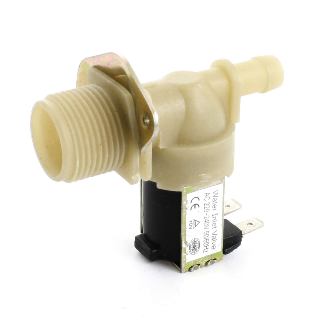 26mm Male Thread Water Inlet Solenoid Valve AC 220-240V for Washing Machine