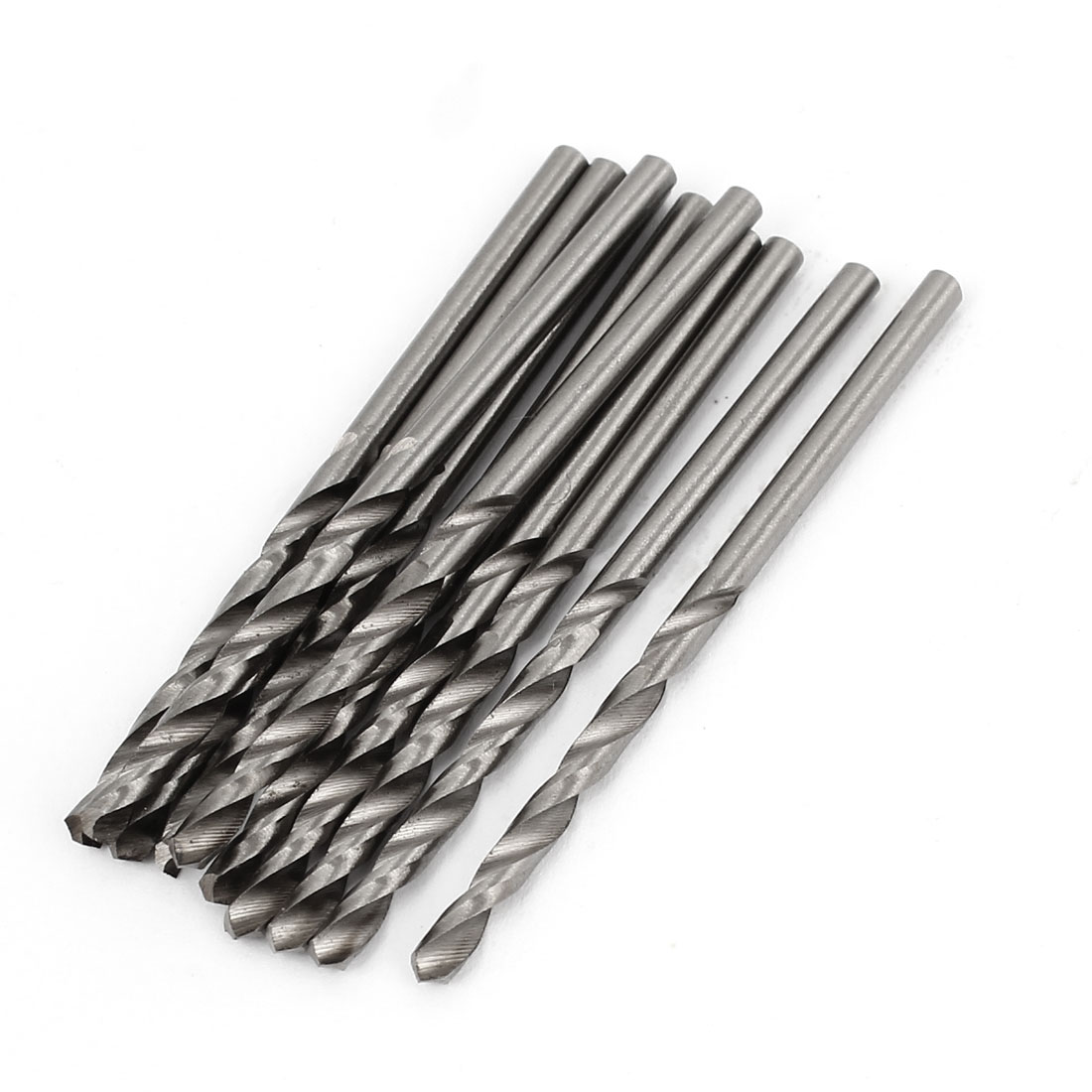 10 Pcs 32mm Length Flute 2.2mm Dia Metal Marble HSS Twist Drilling Drill Bit