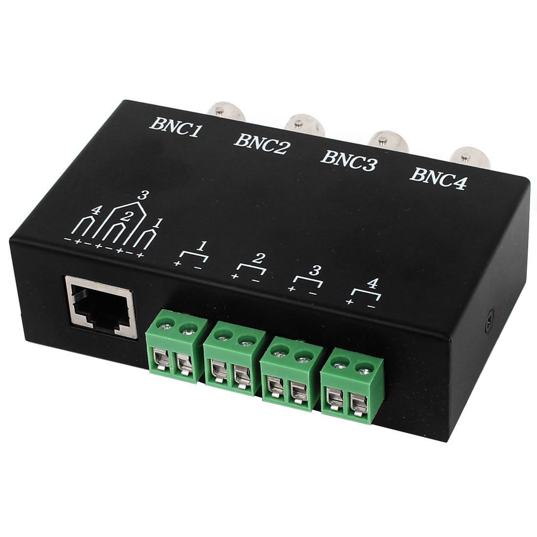 CCTV Camera DVR 4 Channel BNC to UTP RJ45 Video Balun Passive Transceiver