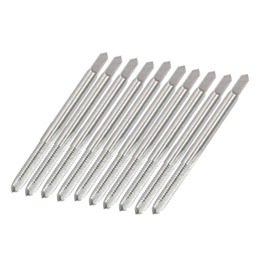 10 Pcs M4 4mm High Speed Steel HSS Machine Screw Thread Metric Taps