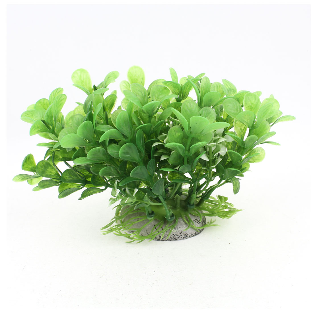 "4"" High Green Plastic Artificial Aquatic Grass Accent for Aquarium Fish Tank"