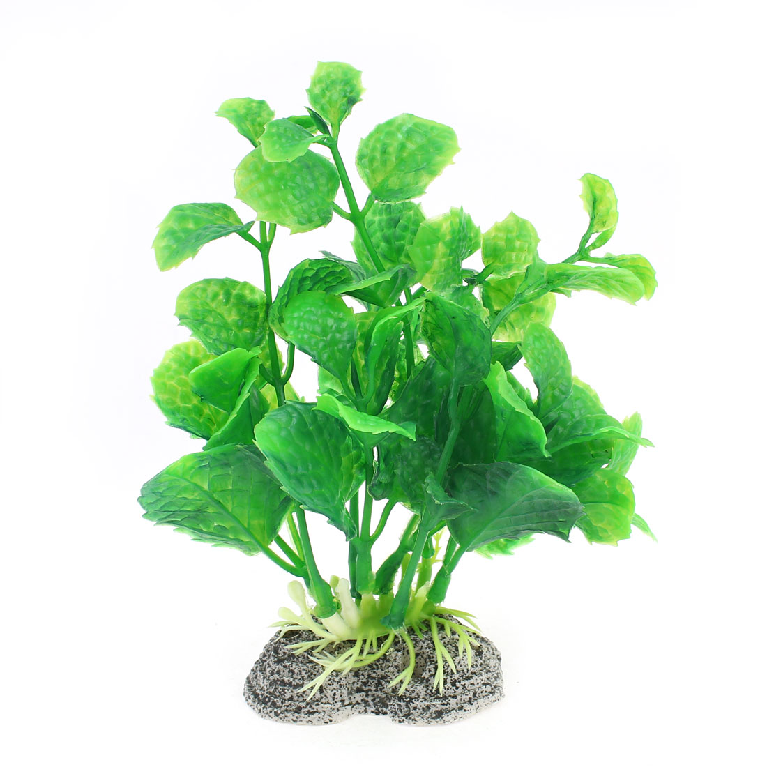 6cm Height Artificial Plastic Green Grass Plant for Aquarium
