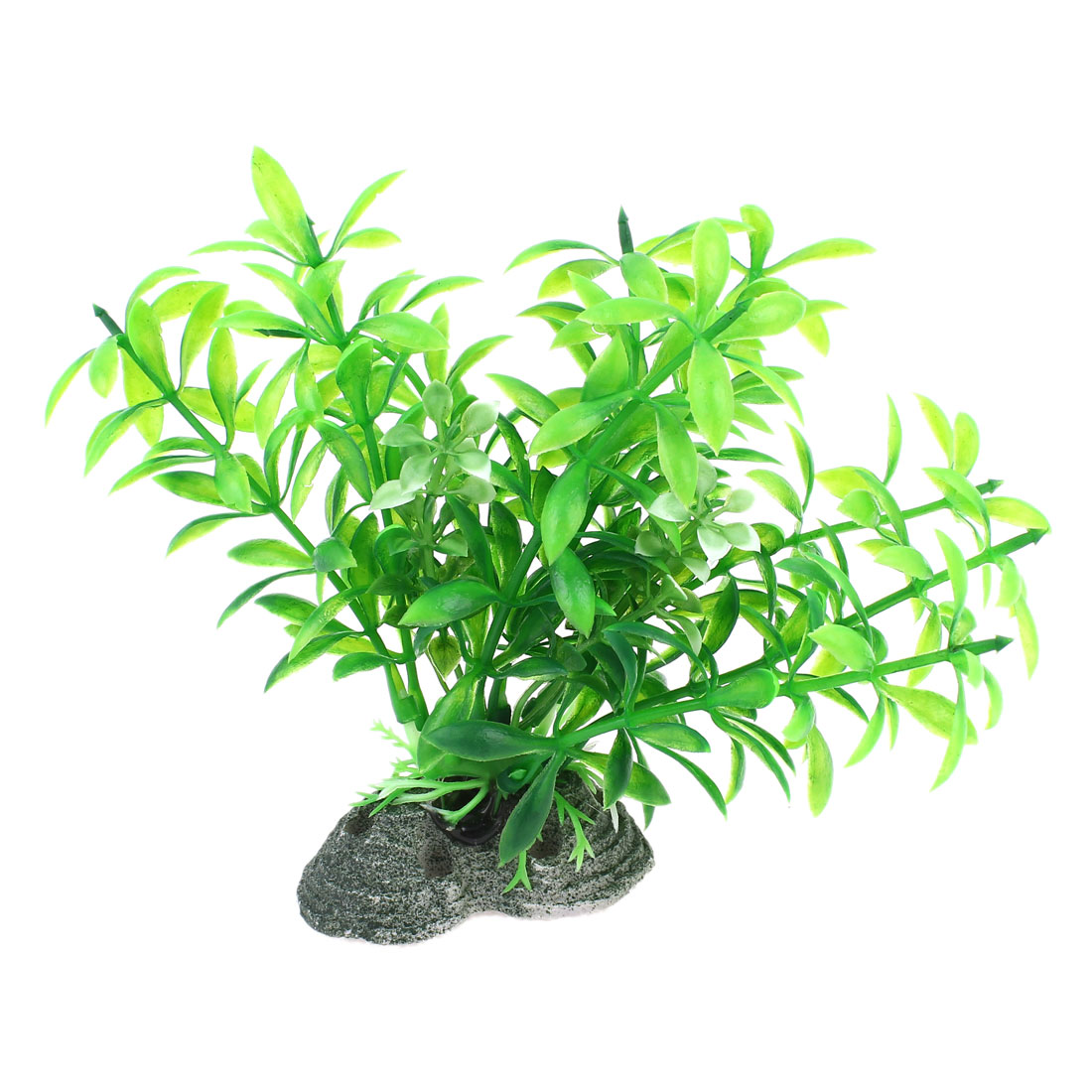 "4.3"" High Artificial Plastic Green Water Grass for Aquarium"
