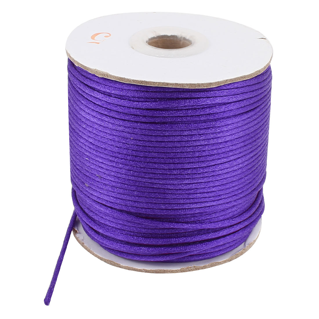 Purple Nylon Handcraft Art Line DIY Chinese Knot Rattail Cord