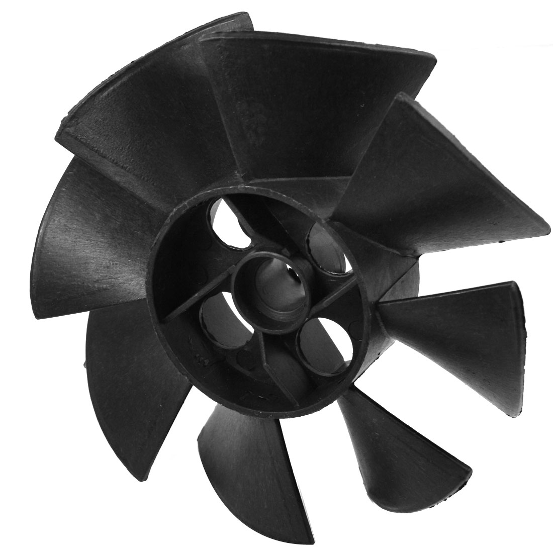 Machine Part Black Plastic 15mm Inner Diameter 8 Impeller Motor Fan Vane