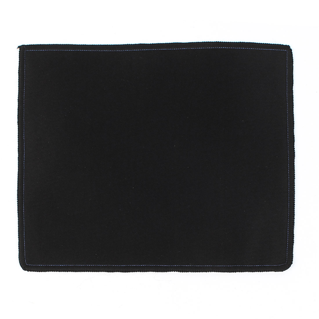 Black 25cmx21cm Rectangle Nonslip Soft Neoprene PC Desktop Gaming Mouse Pad Mat