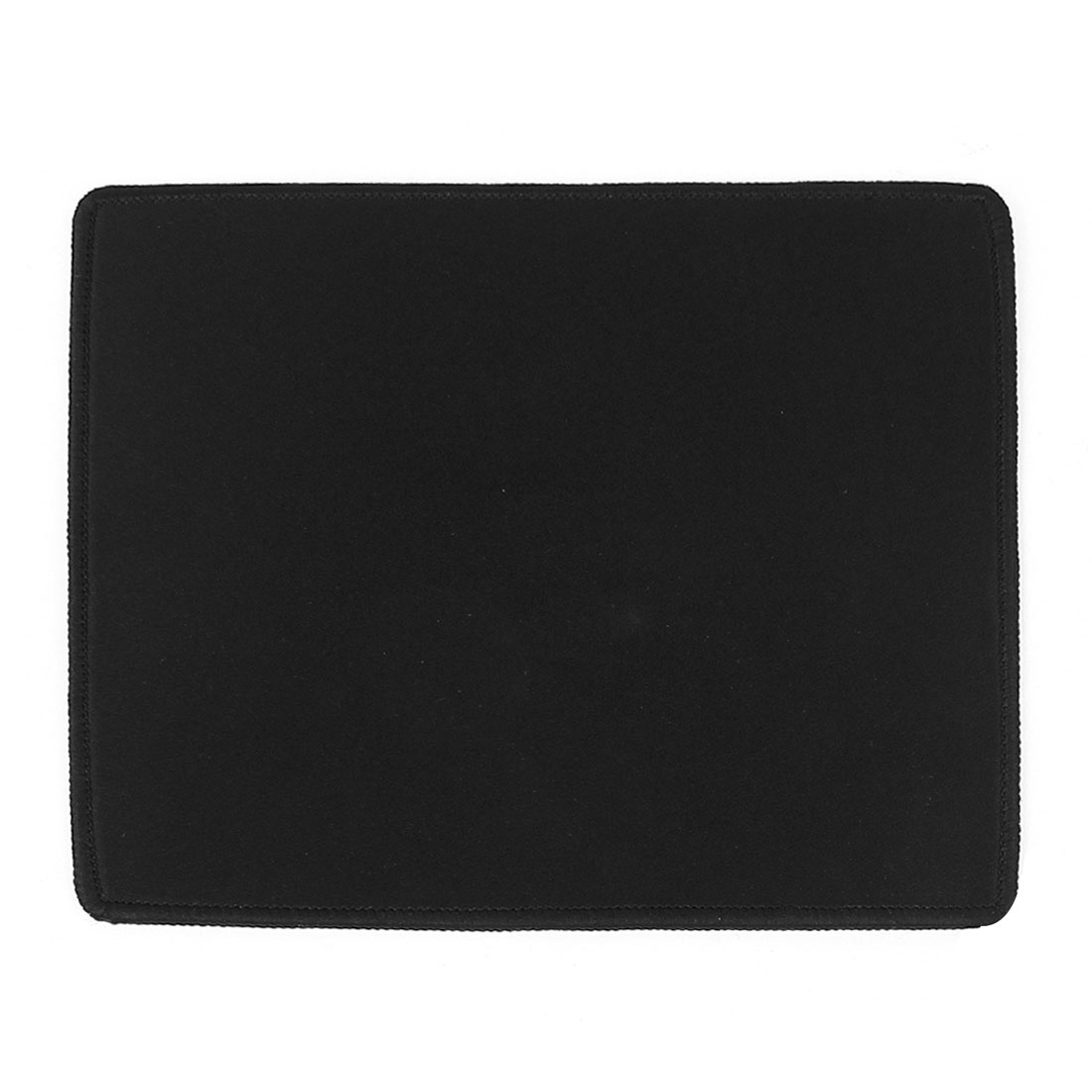 Black 29cmx24.5cm Rectangular Nonslip Soft Neoprene Desktop Gaming Mouse Pad Mat