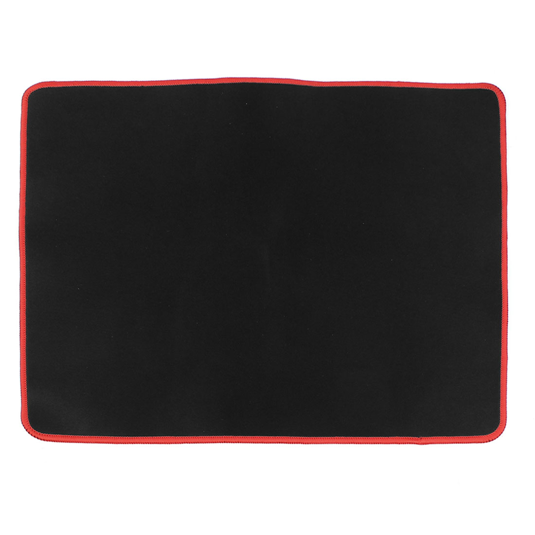Black Red 440mmx350mmx3mm Nonslip Soft Neoprene Desktop Computer Game Mouse Pad