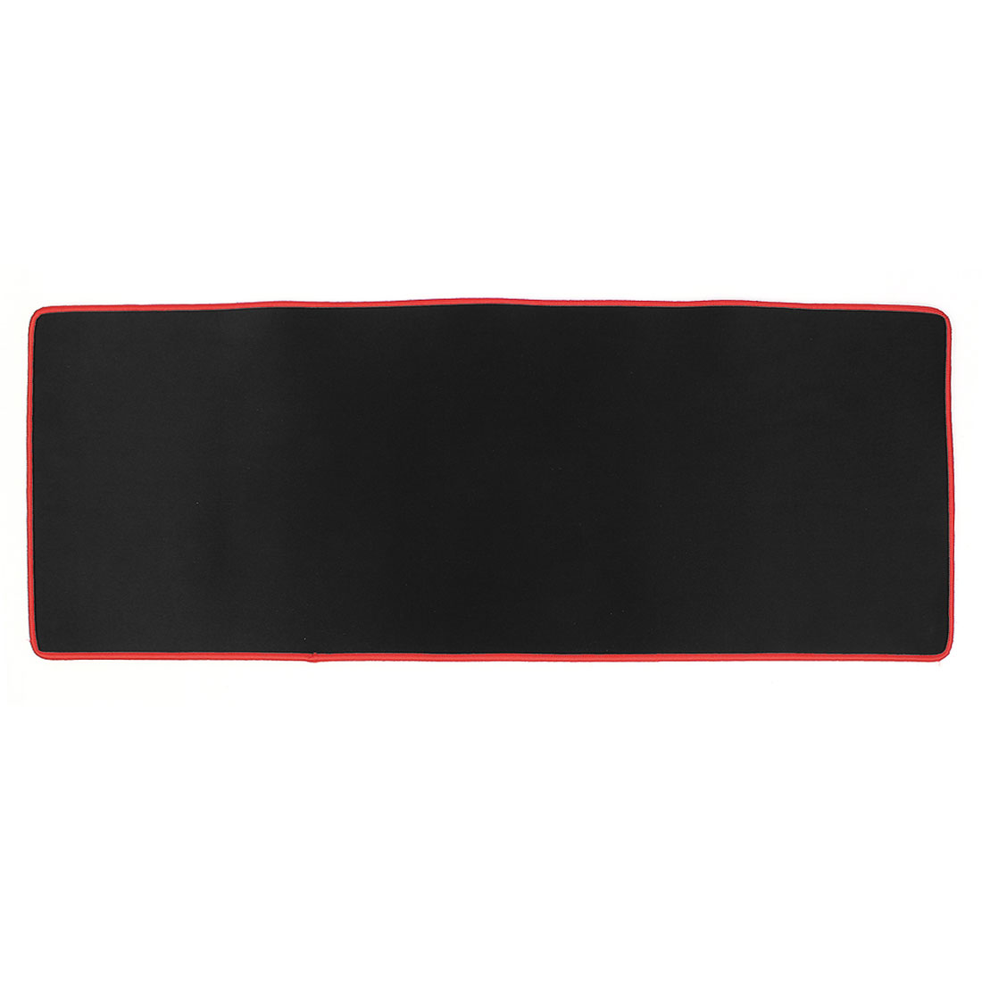 Black Red 775mmx300mmx5mm Nonslip Soft Neoprene Desktop Computer Game Mouse Pad