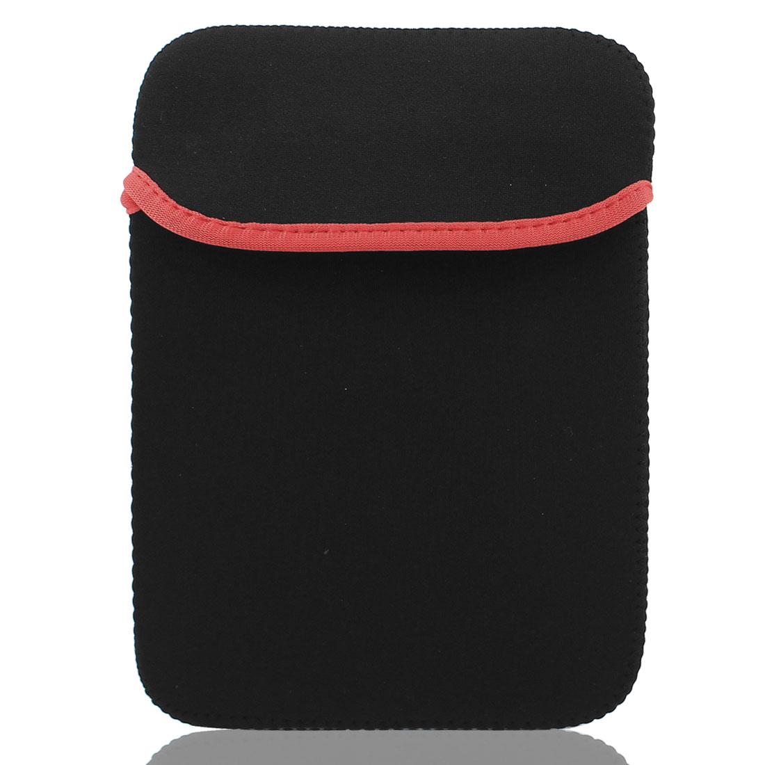 "8"" Tablet eBook Reader Neoprene Sleeve Case Bag Pouch Cover Protector Black Red"