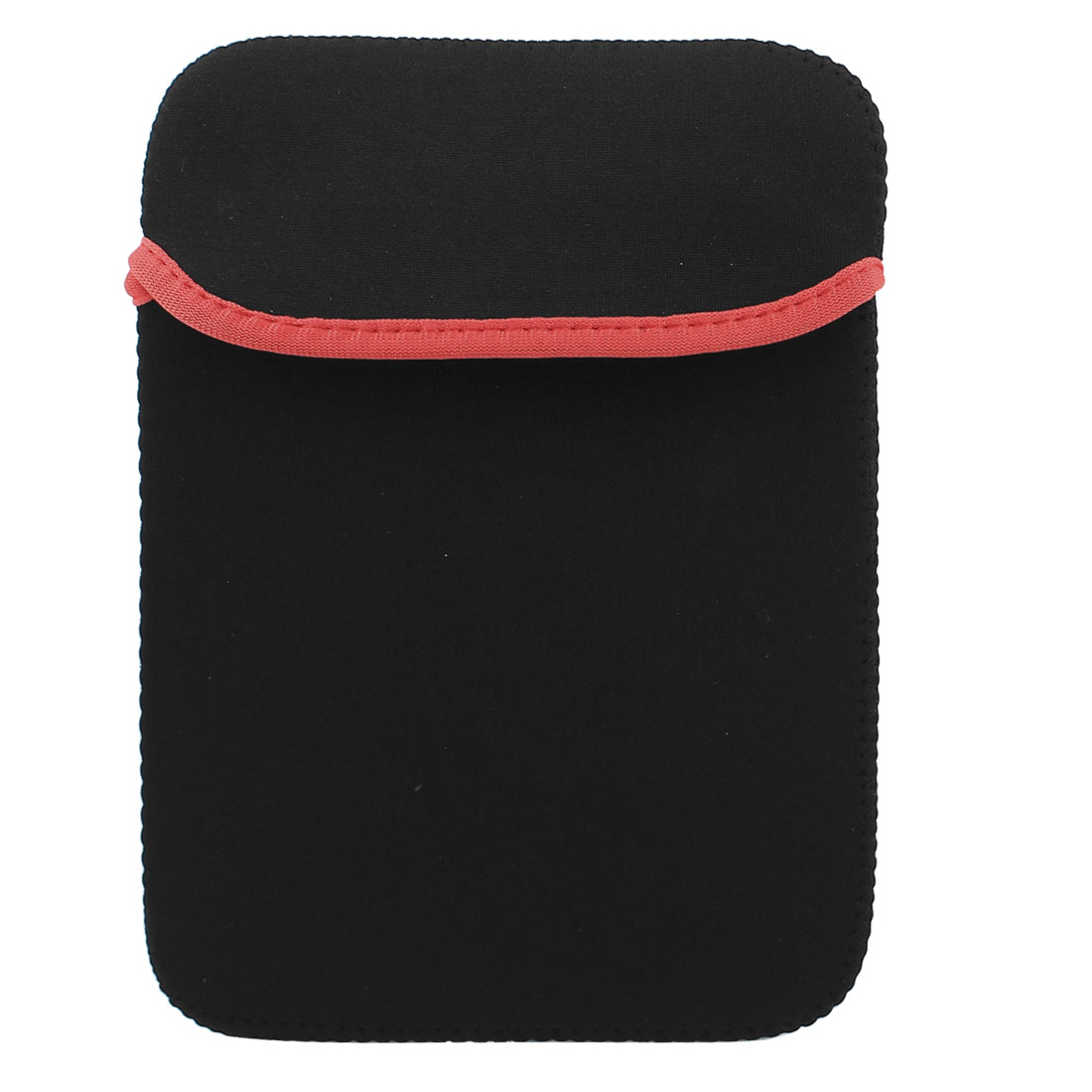 "14"" Soft Neoprene PC Laptop Tablet Netbook Sleeve Case Bag Cover Pouch Black Red"