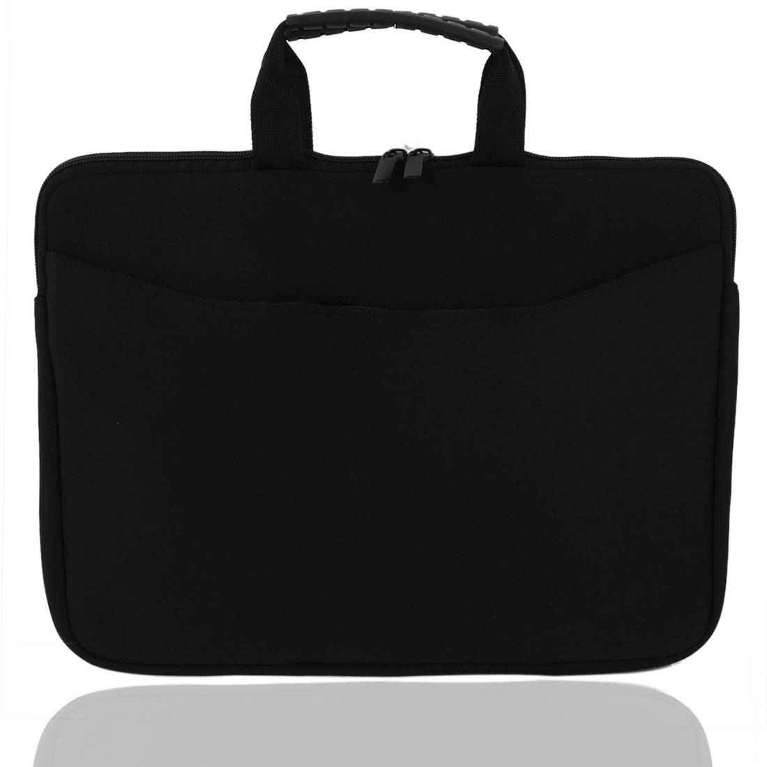 "13"" Neoprene PC Laptop Netbook Notebook Zipper Sleeve Case Bag Cover Pouch Black"