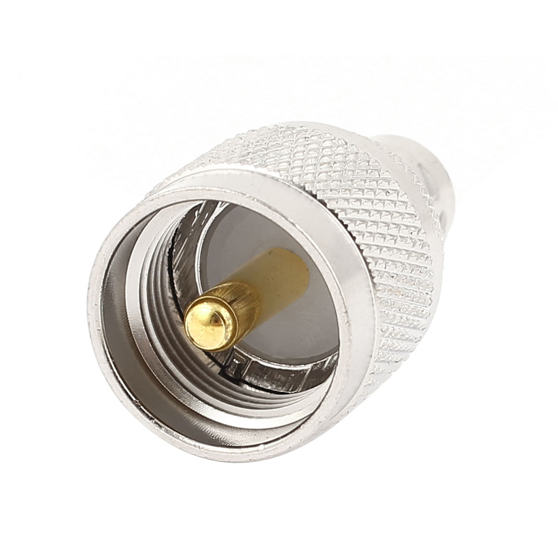 UHF Male Plug to BNC Female Jack M/F Straight Type RF Adapter Coaxial Connector