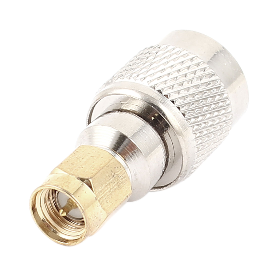 TNC Male Plug to SMA Male Plug M/M Straight Adapter RF Coaxial Cable Connector