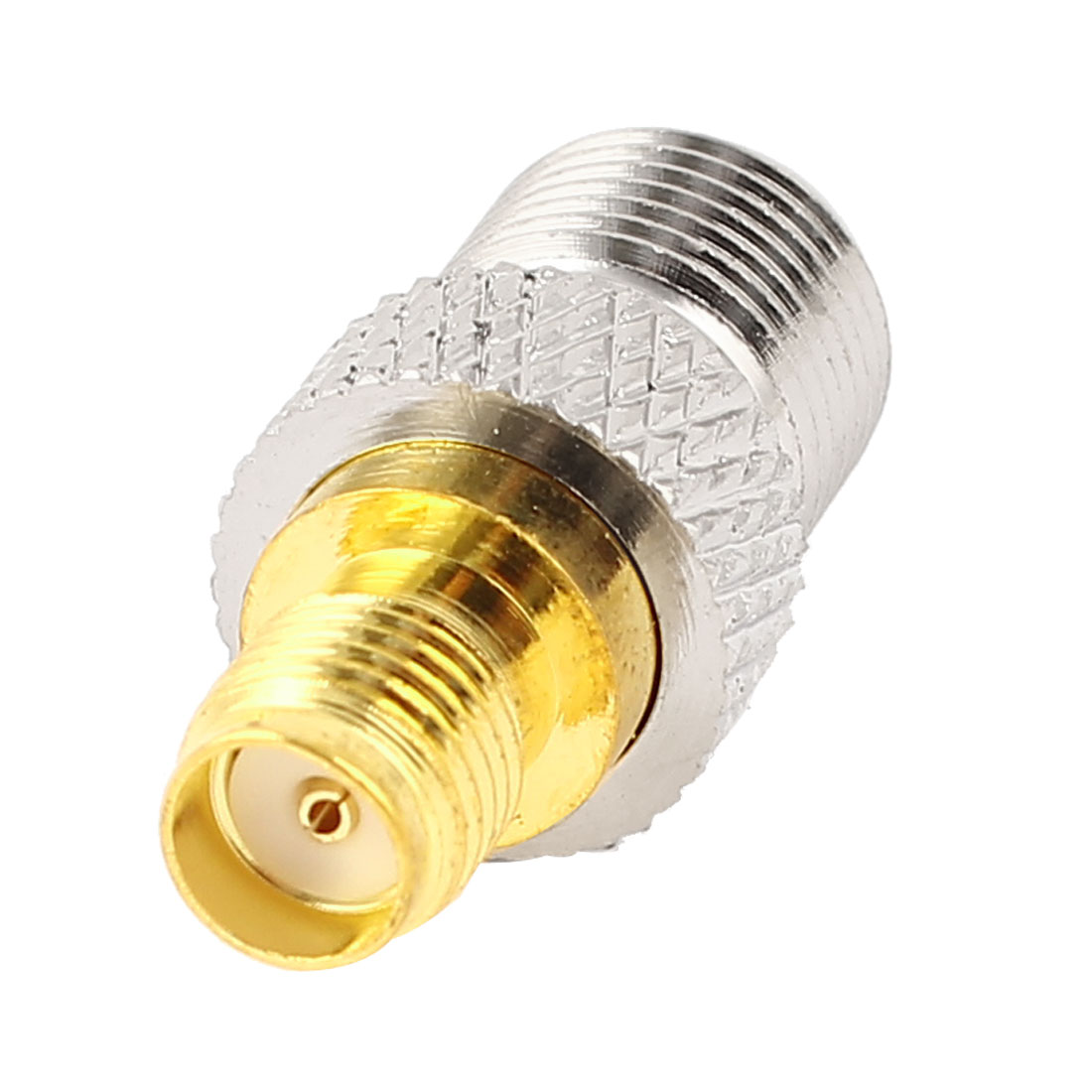 F Type Female Jack to SMA Female Jack F/F Straight RF Adapter Coaxial Connector