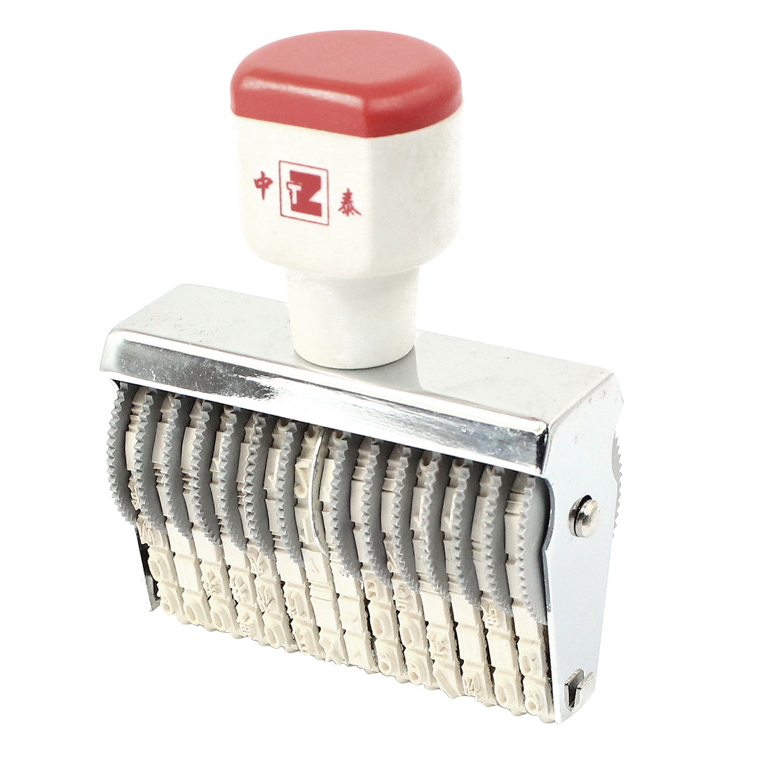 Price Unit Design 14 Digits Number Numbering Machine Roller Stamp Seal